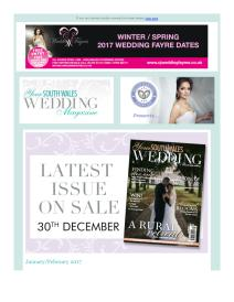 Your South Wales Wedding magazine - January 2017 newsletter