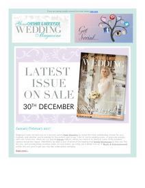 Your Cheshire & Merseyside Wedding magazine - January 2017 newsletter
