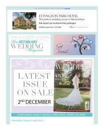 Your West Midlands Wedding magazine - January 2017 newsletter