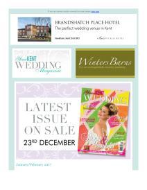 Your Kent Wedding magazine - February 2017 newsletter