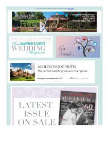 Your Hampshire and Dorset Wedding magazine - February 2017 newsletter