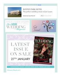 Your Sussex Wedding magazine - February 2017 newsletter