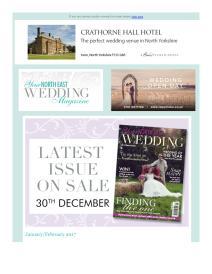 Your North East Wedding magazine - February 2017 newsletter