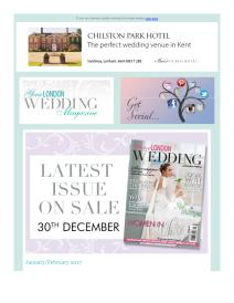 Your London Wedding magazine - February 2017 newsletter