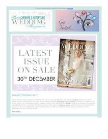 Your Cheshire & Merseyside Wedding magazine - February 2017 newsletter