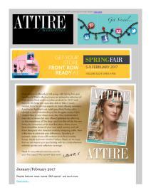 Attire Accessories magazine - February 2017 newsletter