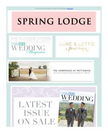 An Essex Wedding magazine - March 2017 newsletter