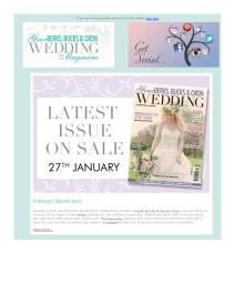 Your Berks, Bucks and Oxon Wedding magazine - March 2017 newsletter