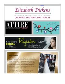 Attire Bridal magazine - March 2017 newsletter
