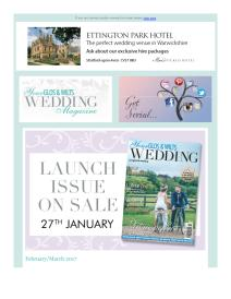 Your Gloucestershire & Wiltshire Wedding magazine - March 2017 newsletter