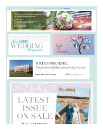 Your London Wedding magazine - March 2017 newsletter