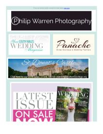 Your South Wales Wedding magazine - April 2017 newsletter