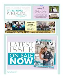 Your West Midlands Wedding magazine - April 2017 newsletter