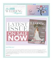 Your Sussex Wedding magazine - May 2017 newsletter