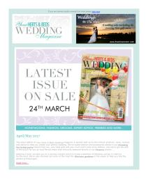 Your Herts and Beds Wedding magazine - May 2017 newsletter