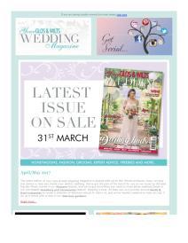 Your Gloucestershire & Wiltshire Wedding magazine - May 2017 newsletter