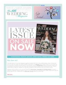 Your Kent Wedding magazine - June 2017 newsletter