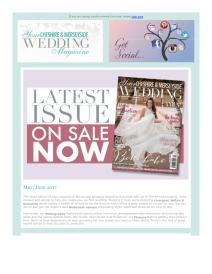 Your Cheshire & Merseyside Wedding magazine - May 2017 newsletter