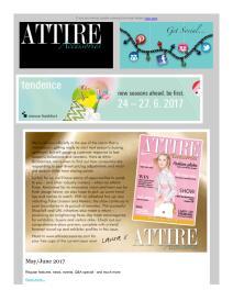 Attire Accessories magazine - June 2017 newsletter