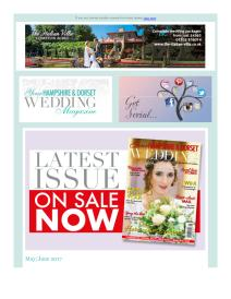 Your Hampshire and Dorset Wedding magazine - June 2017 newsletter