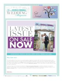 Your Devon and Cornwall Wedding magazine - June 2017 newsletter