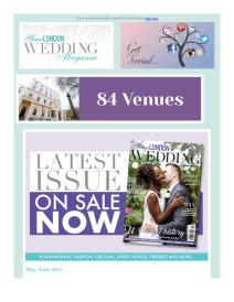 Your London Wedding magazine - June 2017 newsletter