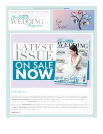 Your Sussex Wedding magazine - June 2017 newsletter