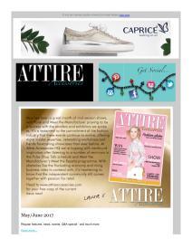 Attire Accessories magazine - July 2017 newsletter