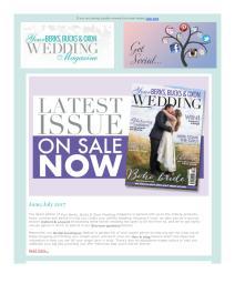 Your Berks, Bucks and Oxon Wedding magazine - June 2017 newsletter