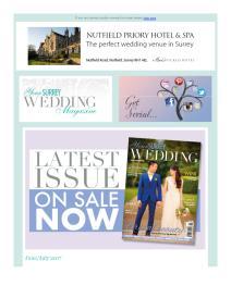 Your Surrey Wedding magazine - June 2017 newsletter