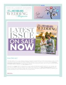 Your West Midlands Wedding magazine - June 2017 newsletter