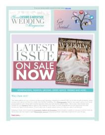 Your Cheshire & Merseyside Wedding magazine - June 2017 newsletter