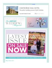 Your North East Wedding magazine - June 2017 newsletter
