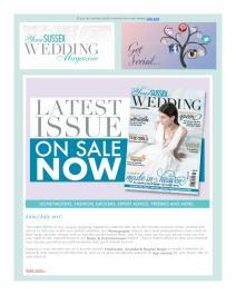 Your Sussex Wedding magazine - July 2017 newsletter