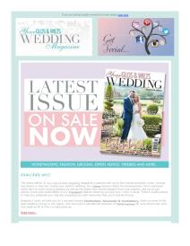 Your Gloucestershire & Wiltshire Wedding magazine - July 2017 newsletter