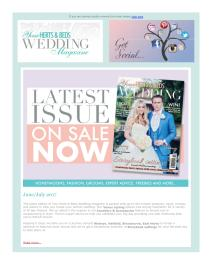 Your Herts and Beds Wedding magazine - July 2017 newsletter