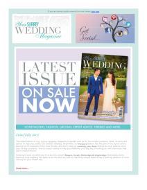 Your Surrey Wedding magazine - July 2017 newsletter