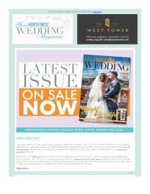 Your North West Wedding magazine - July 2017 newsletter