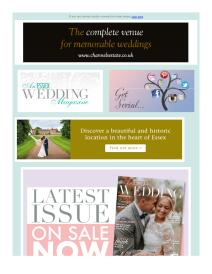 An Essex Wedding magazine - July 2017 newsletter