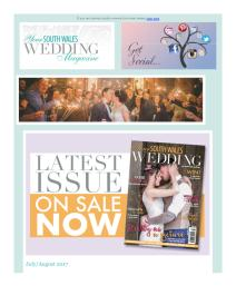 Your South Wales Wedding magazine - July 2017 newsletter