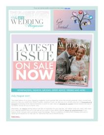 An Essex Wedding magazine - August 2017 newsletter