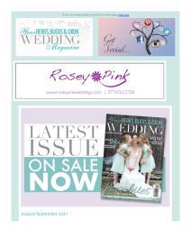 Your Berks, Bucks and Oxon Wedding magazine - August 2017 newsletter