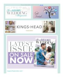 Your Glos & Wilts Wedding magazine - August 2017 newsletter