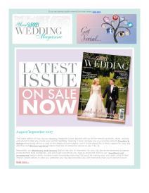 Your Surrey Wedding magazine - August 2017 newsletter