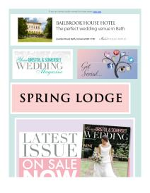 Your Bristol and Somerset Wedding magazine - September 2017 newsletter