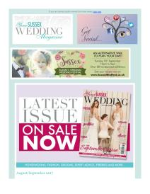 Your Sussex Wedding magazine - September 2017 newsletter