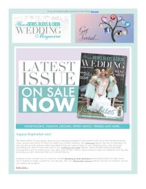 Your Berks, Bucks and Oxon Wedding magazine - September 2017 newsletter