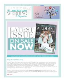 Your Berks, Bucks and Oxon Wedding magazine - September 2017 newsletter