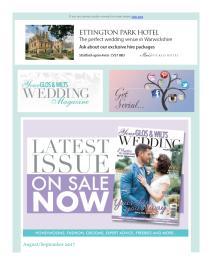 Your Glos & Wilts Wedding magazine - September 2017 newsletter