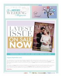 Your North West Wedding magazine - September 2017 newsletter